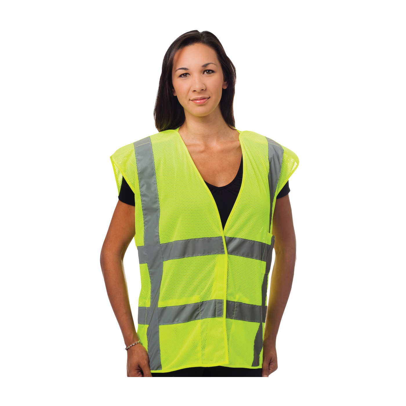 Ansi Type R Class 2 Three Pocket Mesh Breakaway Reflective