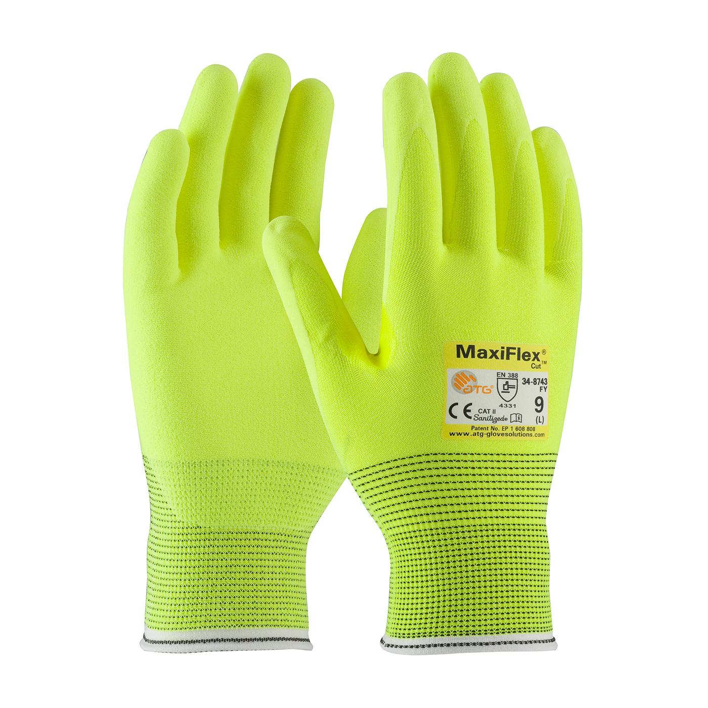 Maxiflex 174 Cut Seamless Knit Engineered Yarn Glove With